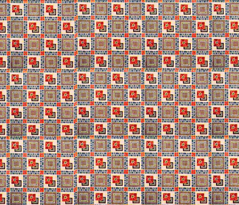 Vintage Multi 2 fabric by tulsa_gal on Spoonflower - custom fabric