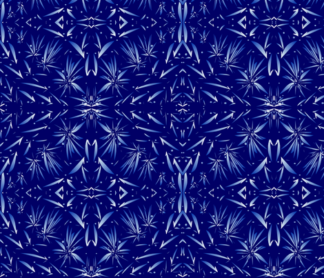 night_sky_designer lydia falletti  fabric by artsylady on Spoonflower - custom fabric