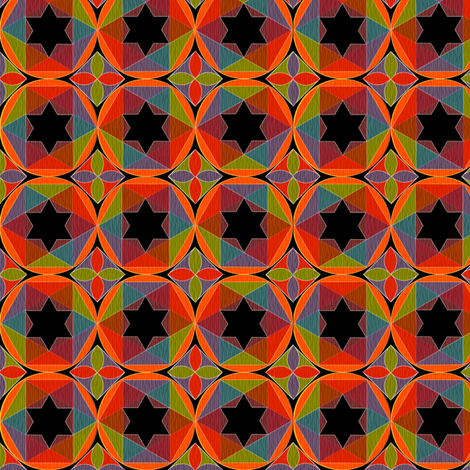 geometry_of_color_2 fabric by glimmericks on Spoonflower - custom fabric