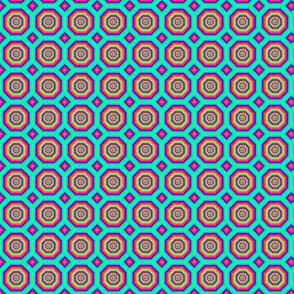Disco Geometric Print