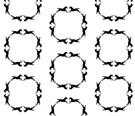horsecircle fabric by ragan on Spoonflower - custom fabric