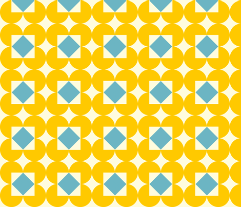 diamondpattern fabric by laurawilson on Spoonflower - custom fabric