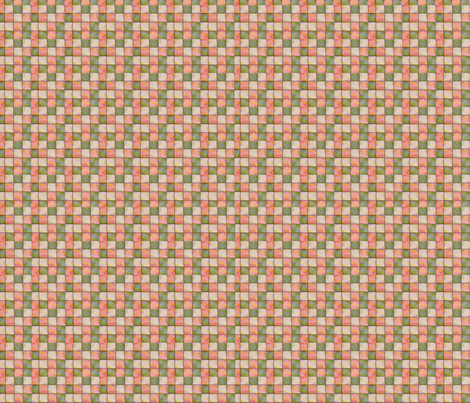 Vintage Pink & Green fabric by tulsa_gal on Spoonflower - custom fabric