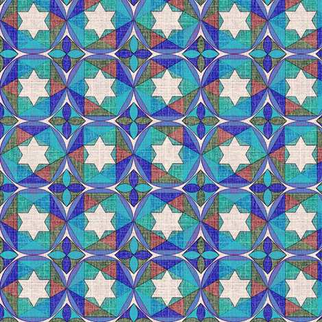geometry_of_color_5 fabric by glimmericks on Spoonflower - custom fabric