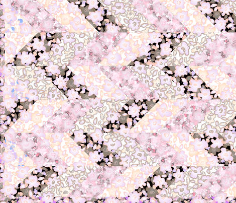 cheaterquiltpinky fabric by wordfabric on Spoonflower - custom fabric