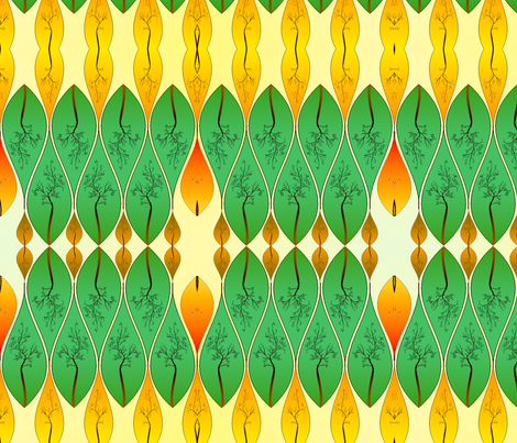 Colours of Autumn fabric by featheralchemist on Spoonflower - custom fabric
