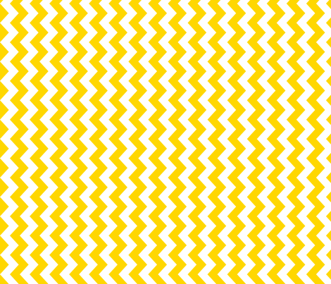 White and yellow vertical chevrons. fabric by pininkie on Spoonflower - custom fabric