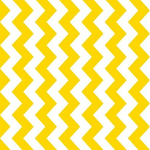 White and yellow vertical chevrons.