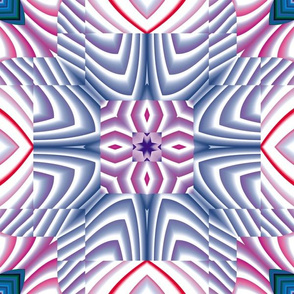 Flowery Incan Tiles 12