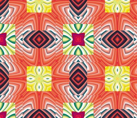 Flowery Incan Tiles 13