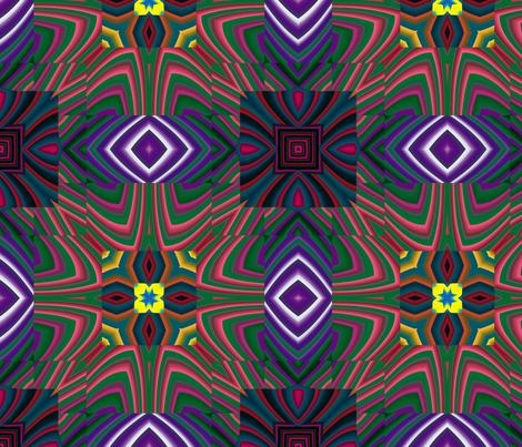Flowery Incan Tiles 15