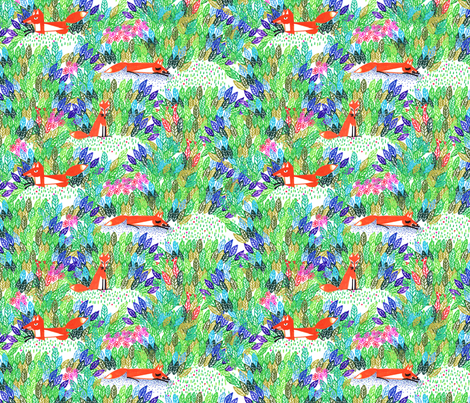 tovi story fabric by nadja_petremand on Spoonflower - custom fabric