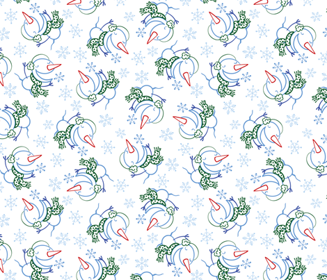 SnwMnCol3PRINT fabric by andi_butler on Spoonflower - custom fabric