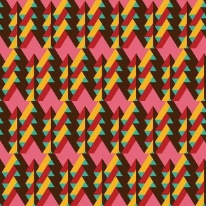 ribbon chevron pattern 2