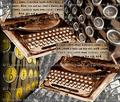 old_fashioned_typewriters