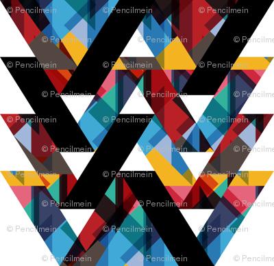 ribbon chevron pattern 3