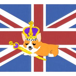 Corgi Union Jack