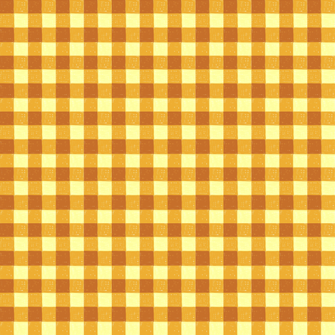 sweet potato gingham fabric by mojiarts on Spoonflower - custom fabric
