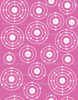 Periodic Shells (Pink Ditsy)