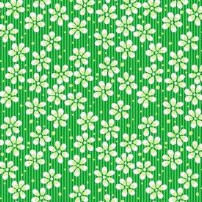 Moss Garden Flowers - Green