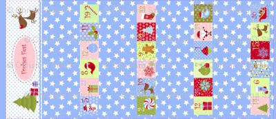 Weihnachtskalender für Mädchen (Cut and Sew)