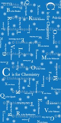 C is for Chemistry (Blue))