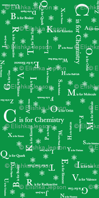 C is for Chemistry (Green)
