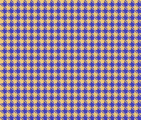 camel blue houndstooth fabric by mojiarts on Spoonflower - custom fabric