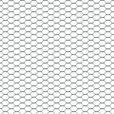 Chicken Wire fabric by golders on Spoonflower - custom fabric