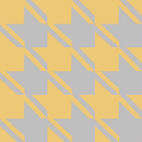 camel grey houndstooth large fabric by mojiarts on Spoonflower - custom fabric