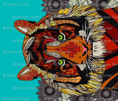 tiger chief yard panel