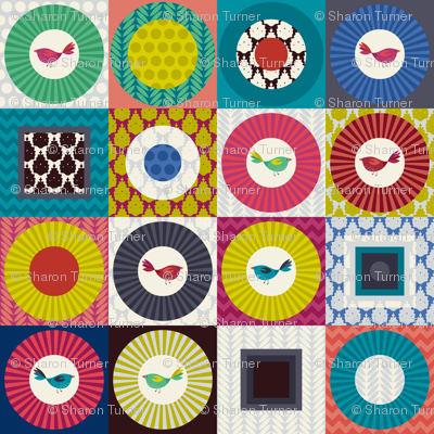 little bird squares small