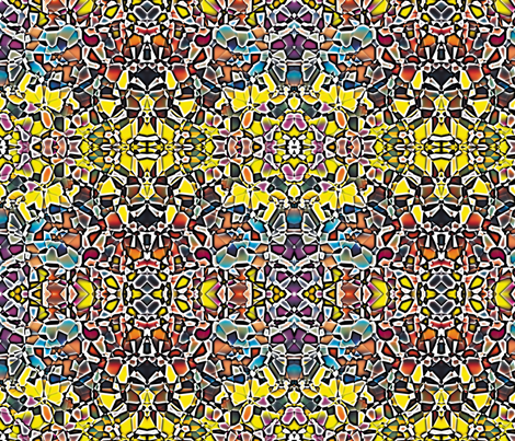 Fractured Colors 2 fabric by animotaxis on Spoonflower - custom fabric
