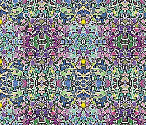 Fractured Colors 4 fabric by animotaxis on Spoonflower - custom fabric