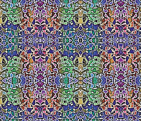 Fractured Colors 12 fabric by animotaxis on Spoonflower - custom fabric
