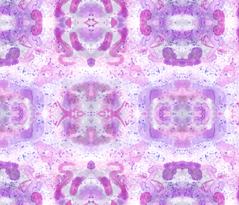 Purple Flare fabric by trgatesart on Spoonflower - custom fabric