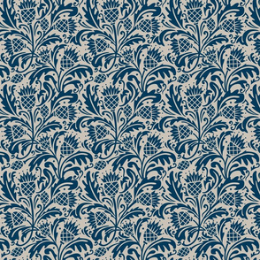 Thistle in Navy