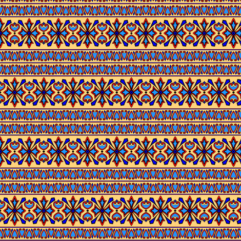 Formal Border fabric by elarnia on Spoonflower - custom fabric