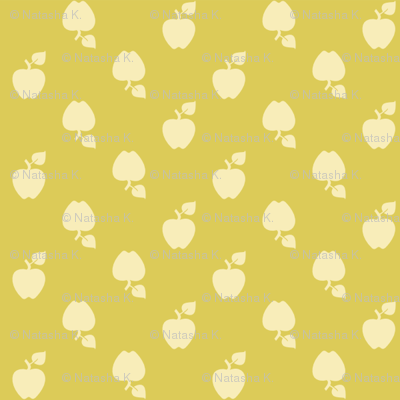 Polka_Apples_green