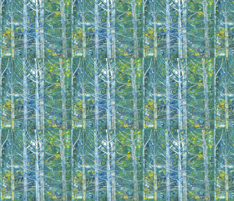 aspen eyes fabric by juliannjones on Spoonflower - custom fabric