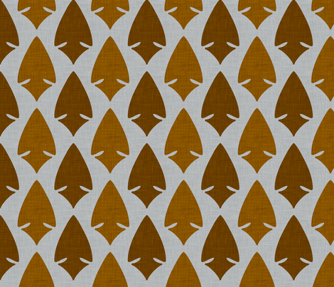 arrowheads_multi fabric by holli_zollinger on Spoonflower - custom fabric