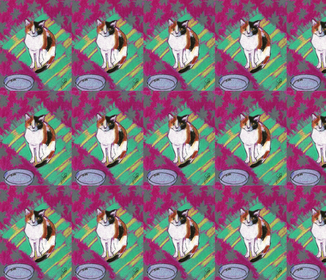 empty dish fabric by juliannjones on Spoonflower - custom fabric