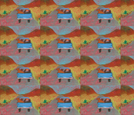 pick up ride fabric by juliannjones on Spoonflower - custom fabric