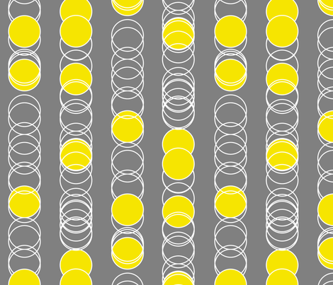 circles fabric by thecalvarium on Spoonflower - custom fabric