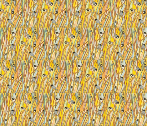chickadees fabric by juliannjones on Spoonflower - custom fabric
