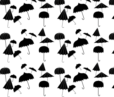 umbrella large  fabric by trizzuto on Spoonflower - custom fabric