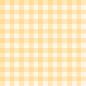 yellow gingham