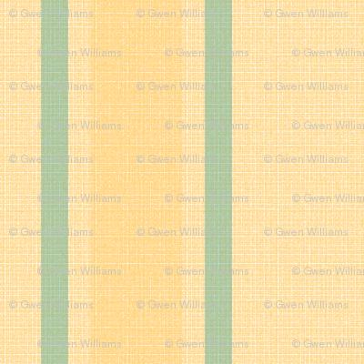 teal yellow stripes