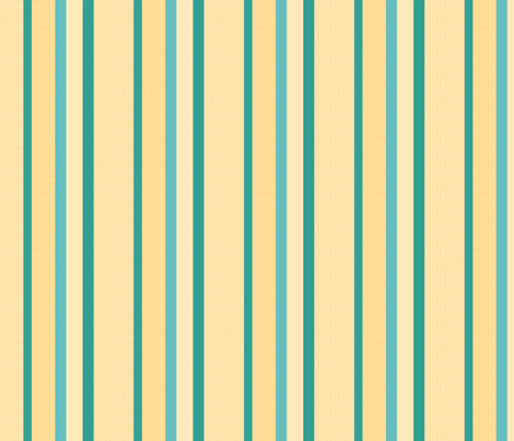 teal yellow stripes 3 fabric by mojiarts on Spoonflower - custom fabric