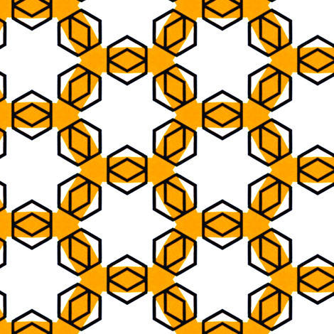 Breedveld Yellow fabric by stoflab on Spoonflower - custom fabric